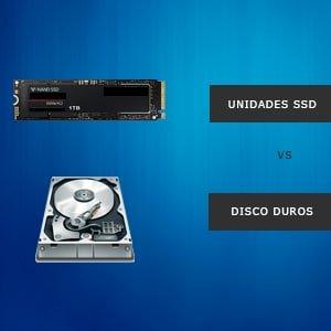 unidades ssd vs hdd
