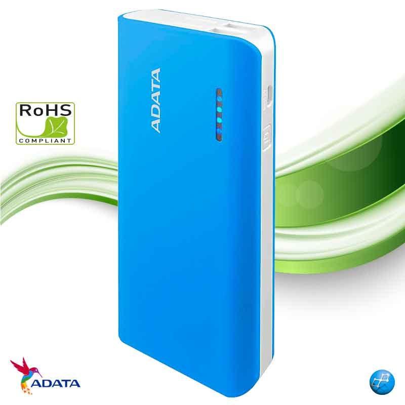 Power Bank 10000 mAh Adata PT100 azul