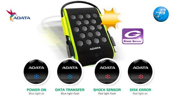 Adata HD720 2TB Anti Golpes Externo USB