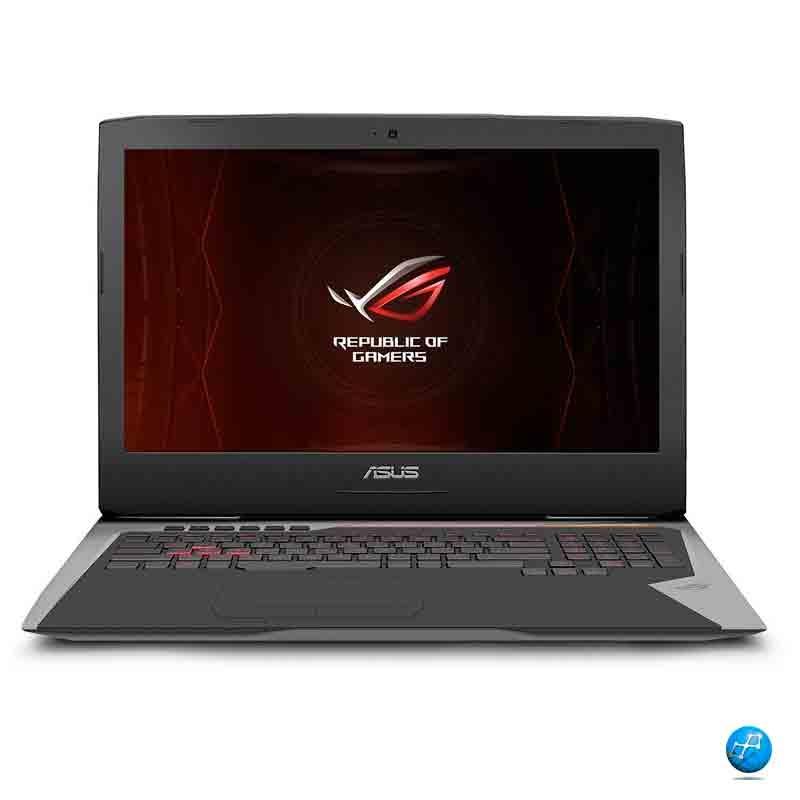 ASUS Republic of Gamers Intel i7-6820HK RAM 32GB SSD512 GTX8GB