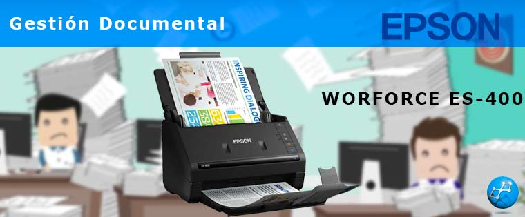 Escaner Epson WorkForce ES-400
