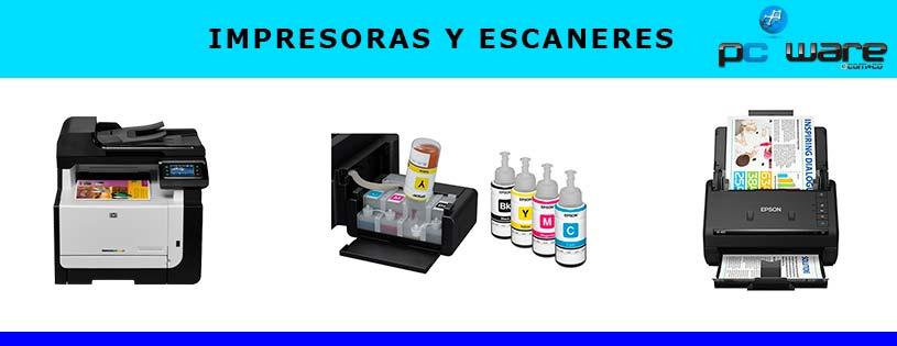 impresoras y escaneres