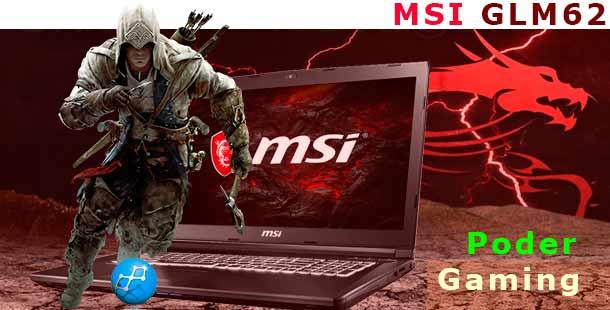 MSI GL62M 7RC Intel Core i5HQ