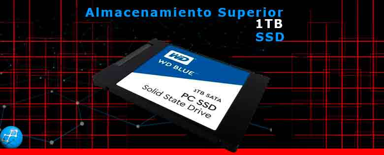 1TB Western Digital Blue Sata3 Disco Interno