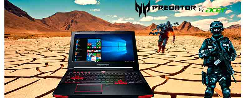 Acer Predator 15 GTX 1060 Procesador Intel Core i7