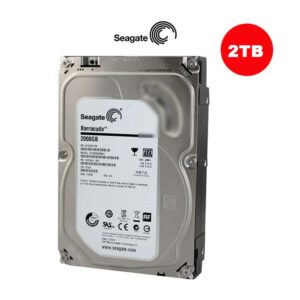 Seagate 2TB BarraCuda SATA III Interno | 3.5 Inch 7200 Rpm 64Mb 6Gb/S Internal Sata Drive -ST2000DMA06