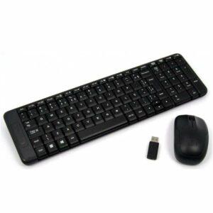 Logitech mk220 combo teclado y mouse