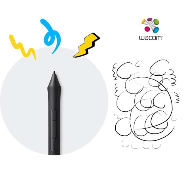 Tablet Wacom Intuos Black small comfort | Tableta Gráfica Pequeña- CTL4100WLK0