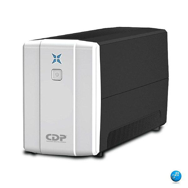 CDP UPS 500VA | R-UPR 508/250W Mantiene tu pc encendido de 10 a 15 Minutos.
