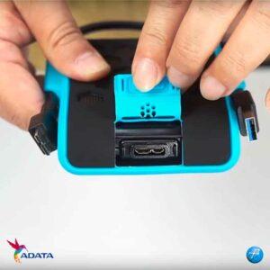 Adata HD720 2TB Anti Golpes Externo USB | Negro | AHD720-2TU3-CBK