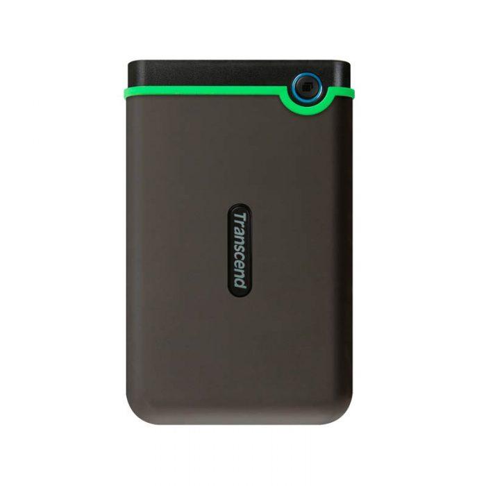 Disco Externo 1TB Transcend M3S VERDE LIMON | Unidad de Almacenamiento USB 3.1 Slim StoreJet 2