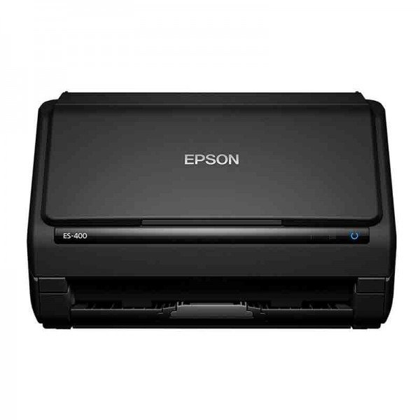 Escáner Epson WorkForce ES-400 | Gestión Documental hasta 35 PPM Duplex Diseño Compacto-B11B226201