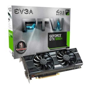 Geforce GTX 1050 | EVGA FTW Gaming 4GB GDDR5 ACX 3.0 TARJETA GRAFICA