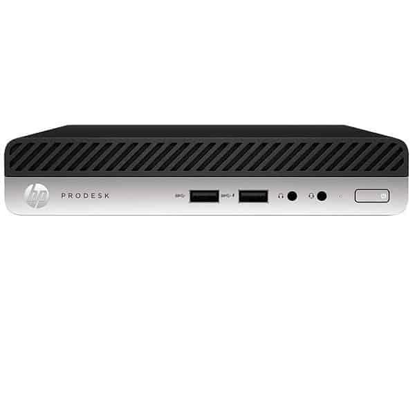 HP Prodesk 400 G3 Mini | Desktop Mini Intel Core i5-7500T DD500GB 7200 RPM 4 GB DDR4 2133 MHz Windows 10 Pro 3-3-3- 1UF57LT#ABM