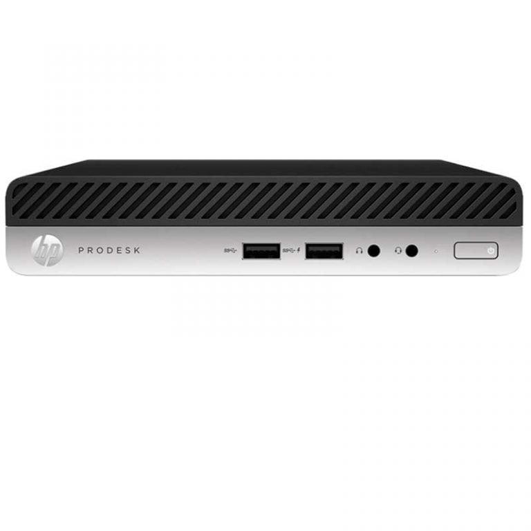 HP Prodesk 400 G3 Mini   Desktop Mini Intel Core i5-7500T DD500GB 7200 RPM 4 GB DDR4 2133 MHz Windows 10 Pro 3-3-3- 1UF57LT#ABM