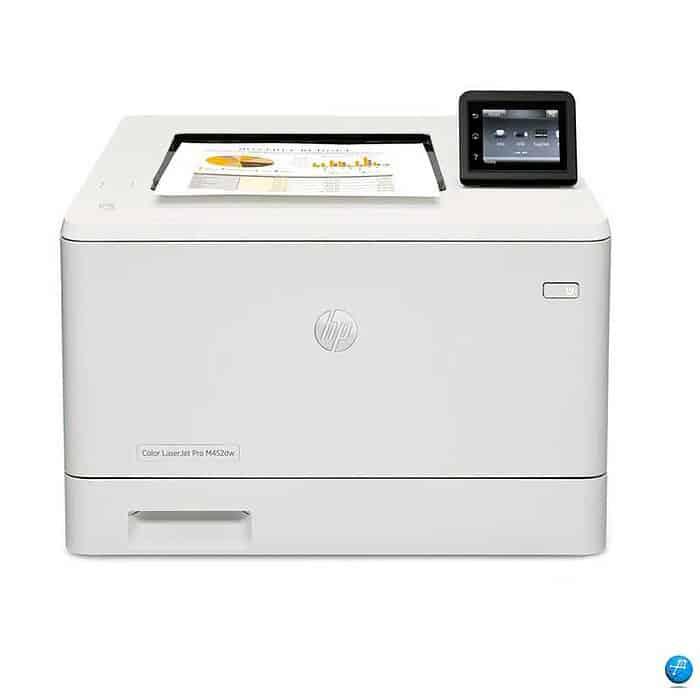 Impresora color hp laserjet pro m452dw (cf394a) | 40 PPM en Negro 28 PPM Color Ethernet, Bandeja para hojas
