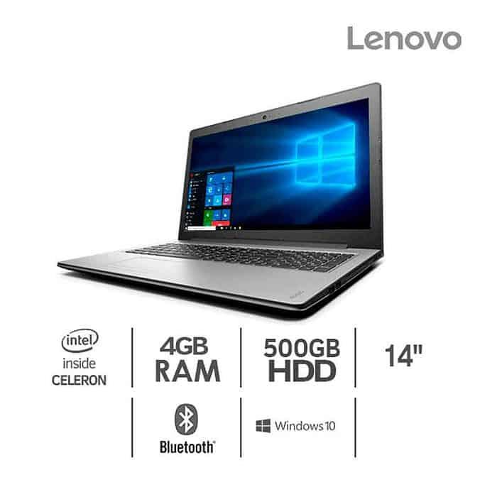 Lenovo Economico Ideapad 320 | Ideapad 320-14IAP Intel Celeron N3060 4G 500GB 14 Pulgadas Win10 SL 1