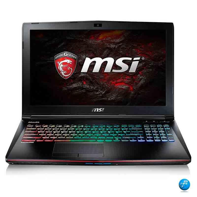 MSI GE62VR-7RF APACHE PRO INTEL Core i7-7700HQ/8GB/1TB/GTX1060/15.6 Pulgadas.