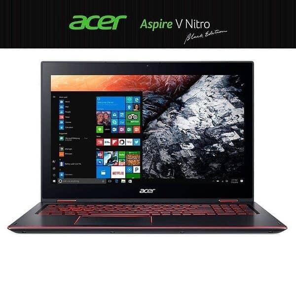 "Acer Nitro 5 intel i7   7700HQ DDR4 8GB SSD256GB GeForce GTX 1050Ti 15.6"" 1 WIN10"