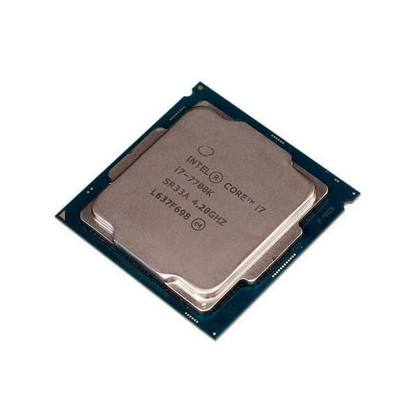 Procesador Intel® Core ™ i7 7700K | Max Turbo 4.20 GHz Quad-Core Processor