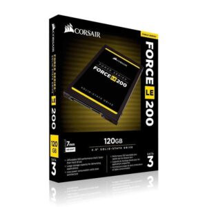 Corsair 120 GB Force LE200 SATA3 | Unidad de estado Solido 120GB CORSAIR GBLE FORCE 1