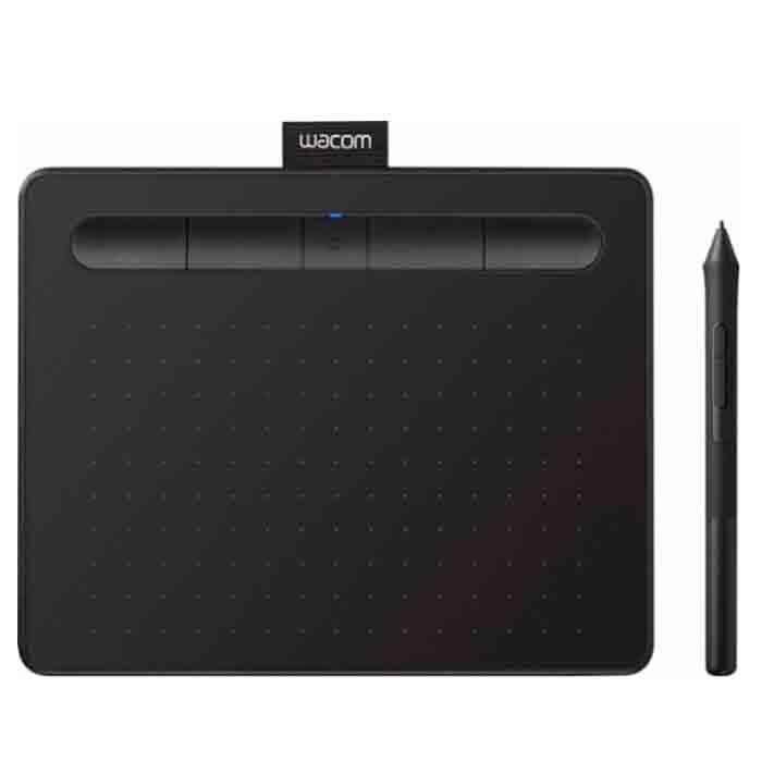 tablet-wacom-intuos-black small comfort tableta grafica pequena ctl4100wlk0