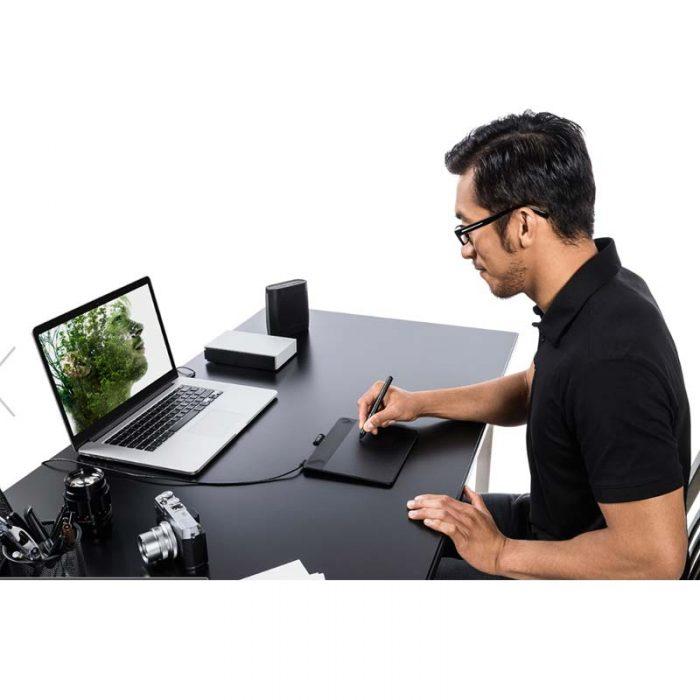 Tableta Digitalizadora wacom Intuos Photo | Creative Pen & Touch Pequeña | CTH490PK