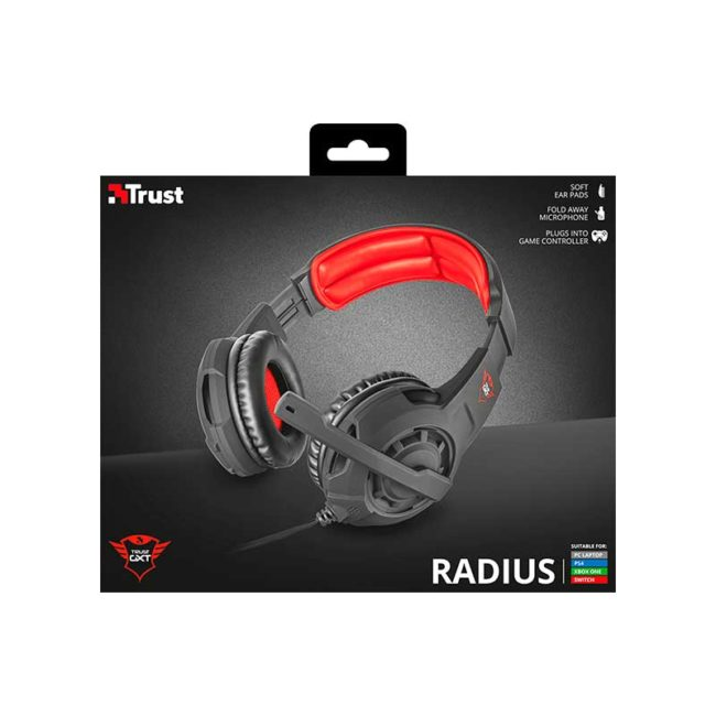 Audifono Gamer TRUST | GXT 310 Radius Gaming Headset 3.5mm