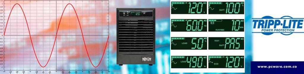 tripp lite smart online ups 1000VA 1kva doble conversion su1000xlcd