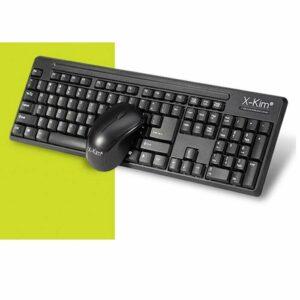 combo teclado y mouse inalambrico xkim wkm 116mu