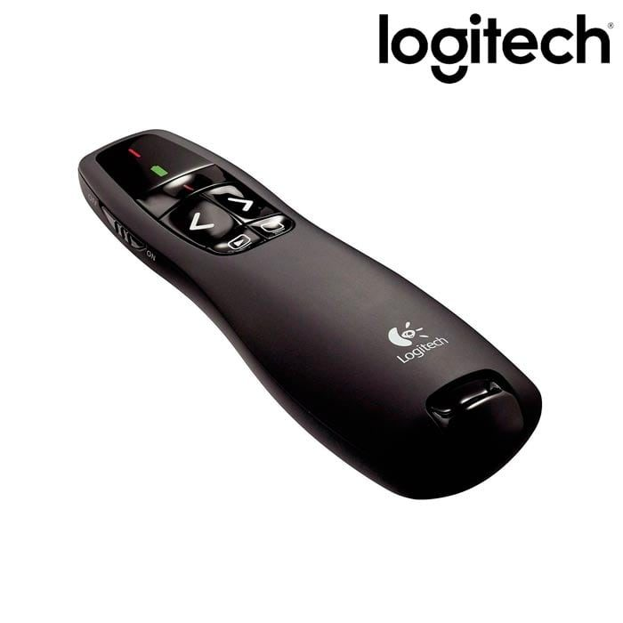logitech r400 apuntador laser punter rojo