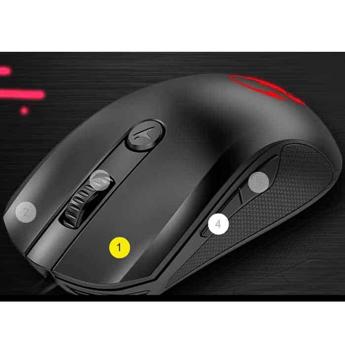 mouse genius gamer-x-g600 dpi ajustable smartgenius