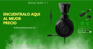 Audífonos Razer 7.1 con micrófono