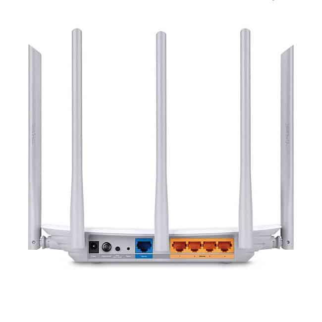 tplink router inalambrico archer c60 banda dual 5ghz 5 antenas c1350